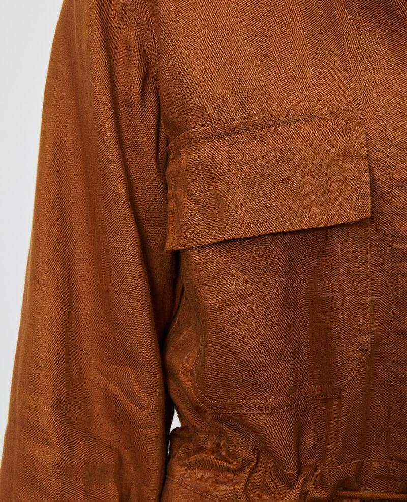 Langer Jumpsuit aus Leinen Monks robe Lachassain