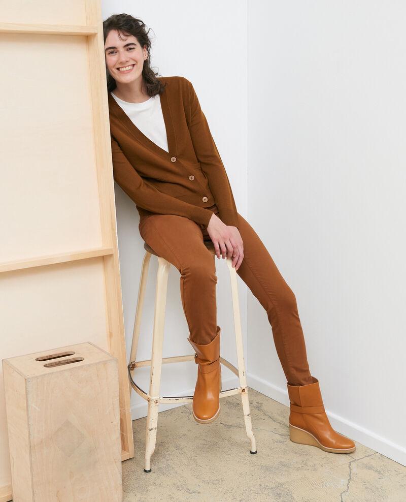 Kurzer Cardigan aus Wolle Monks robe Palabre
