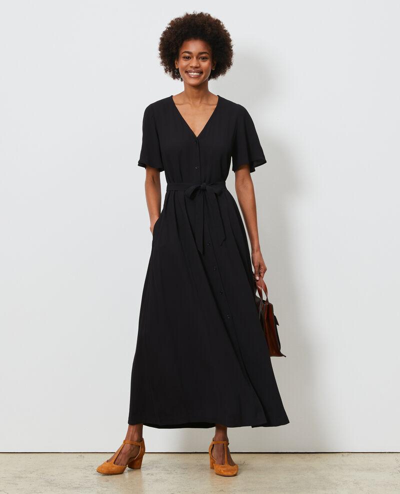 Langes Kleid Black beauty Lavish