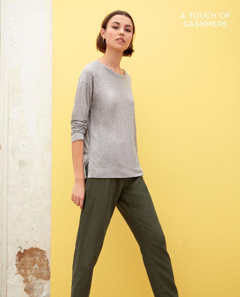 Zeitloses T-Shirt Heather grey Integre