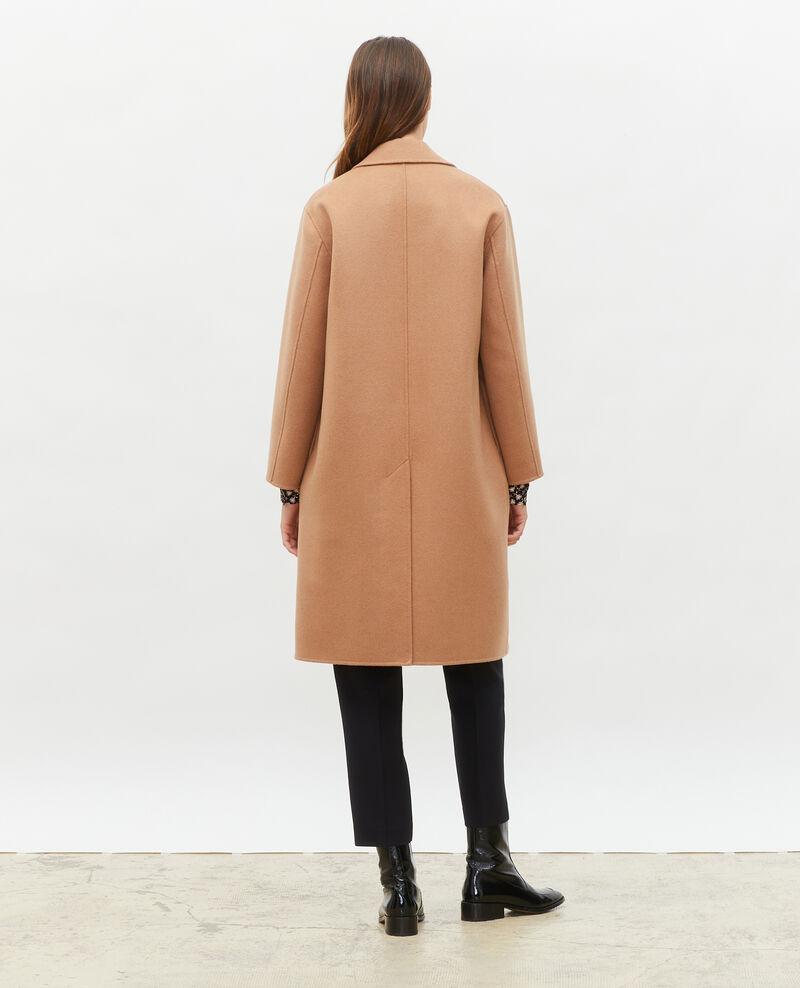 Mantel aus Wolle Latte Maclas