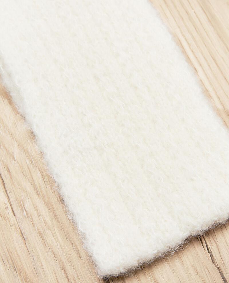 Strick-Headband Off white Jihead