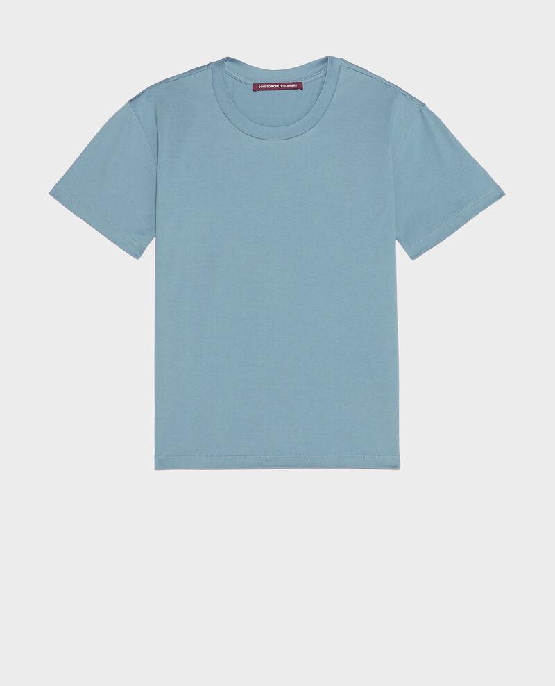 Kurzärmeliges T-Shirt aus Baumwolle mit Rundhalsausschnitt Bluestone Lirous