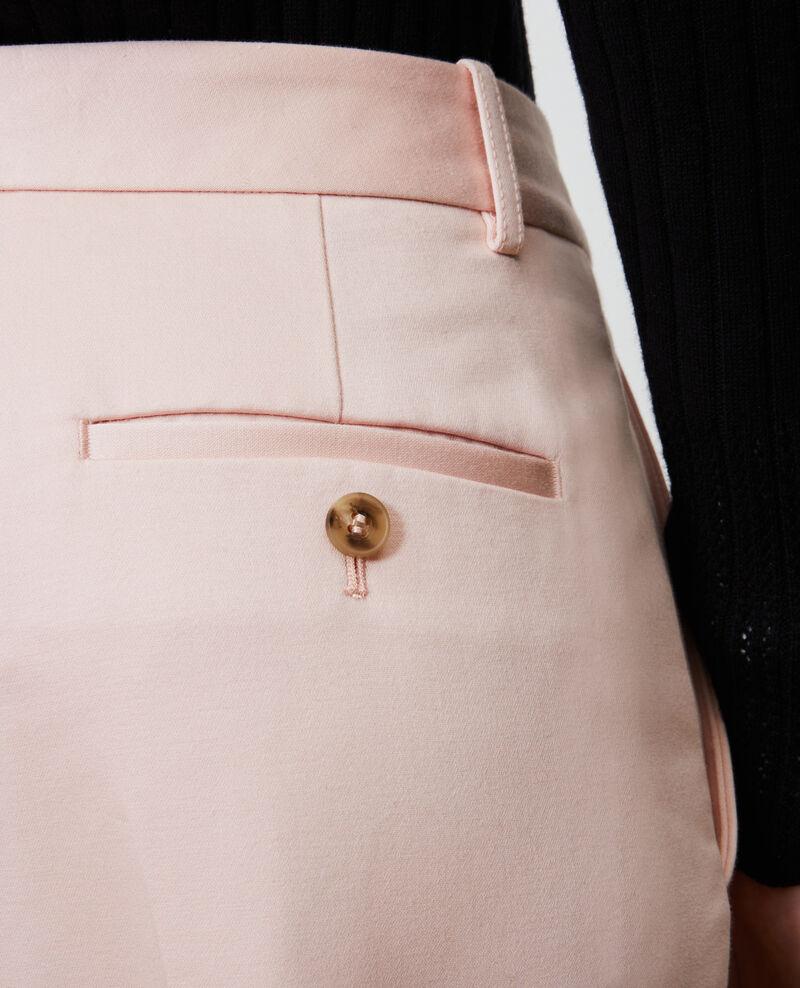 Hose 7/8 Baumwollhose, unten verjüngt Seashell pink Nezel