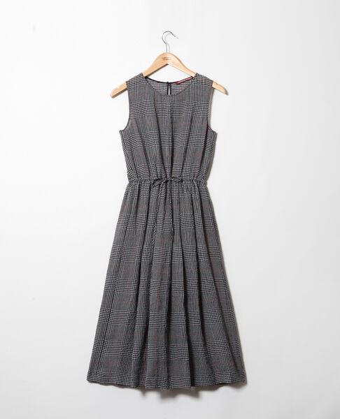 Comptoir des Cotonniers - halblanges kleid mit leinen - 3