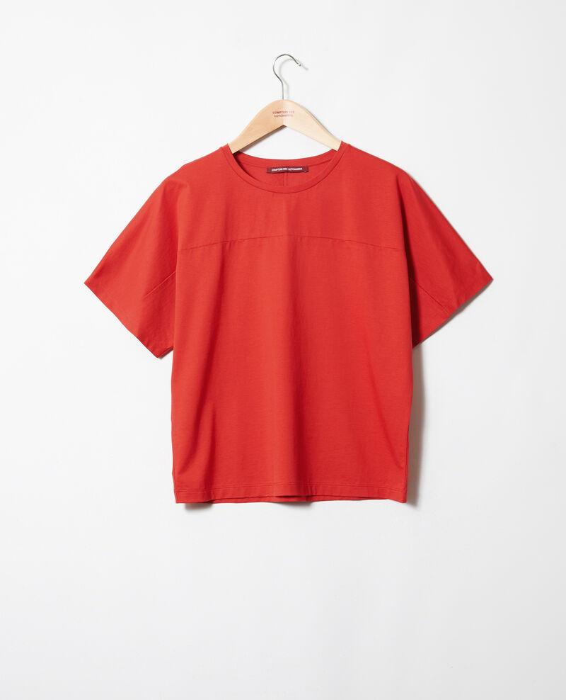 T-Shirt aus Baumwolle Molten lava Jokari