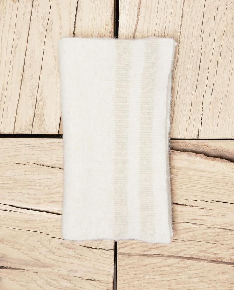 Schal mit Lurexdetail  Off white Jifroid