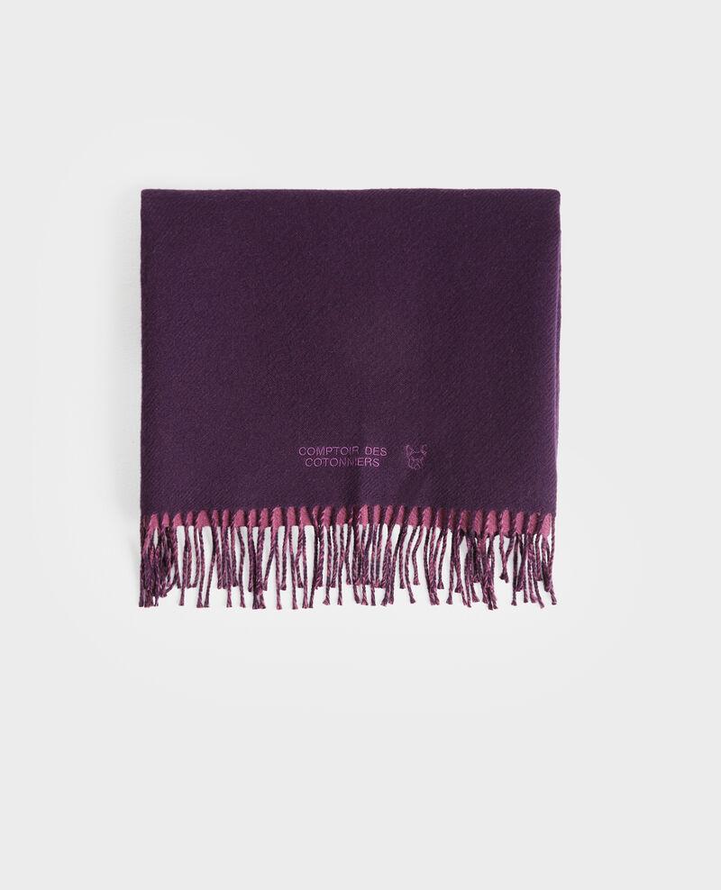 Wendbarer Wollschal Potent purple Pautes