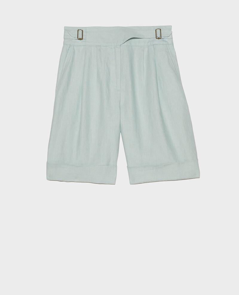 Shorts aus Leinen Blue haze Laudi