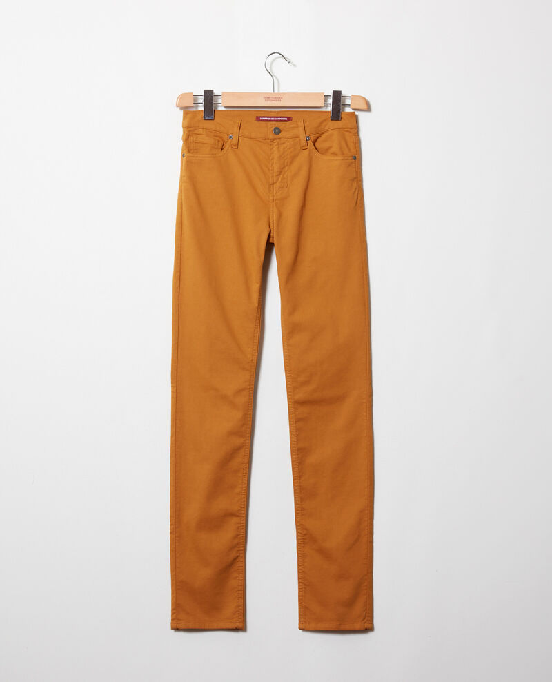 Slim-Jeans Golden brown Jilineto