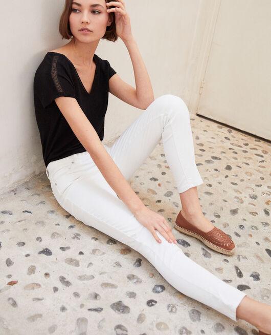 Regular Skinny-Jeans OFF WHITE