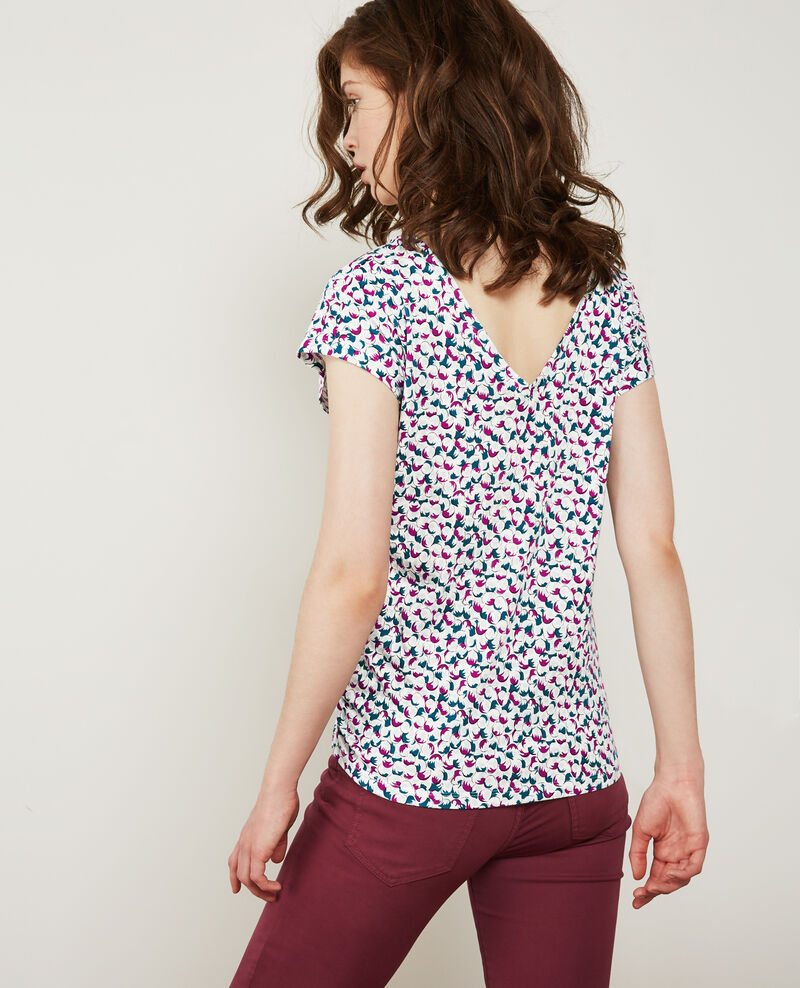 Gemustertes T-Shirt Bubbles peony Dragee