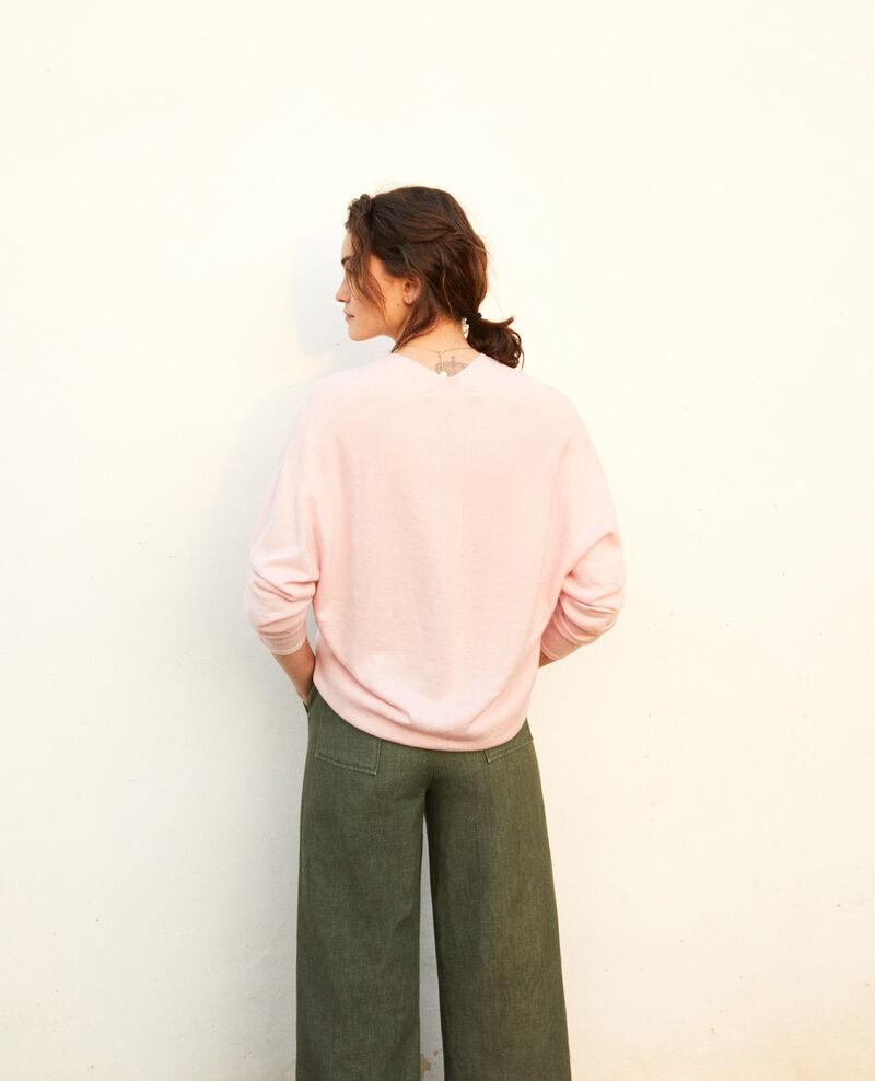 Pullover mit Kaschmir Pink icing Iopy
