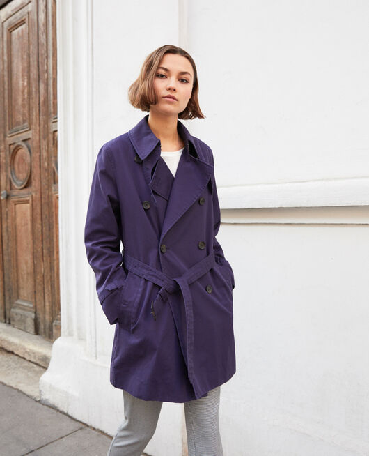 Zeitloser Trenchcoat INK NAVY