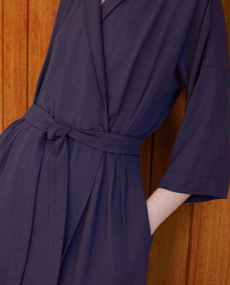 Wickelkleid Blau Guichard