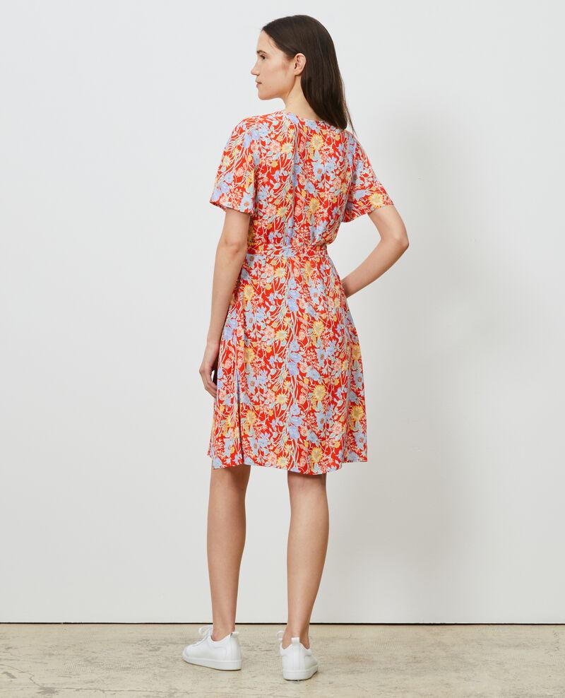 Kurzes gemustertes Kleid Ete red small Nauvishort