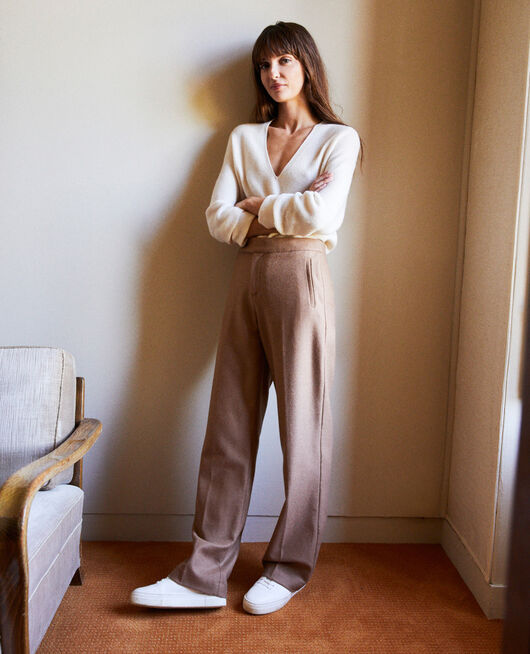 tailoring-Hose mit Wolle CAMEL
