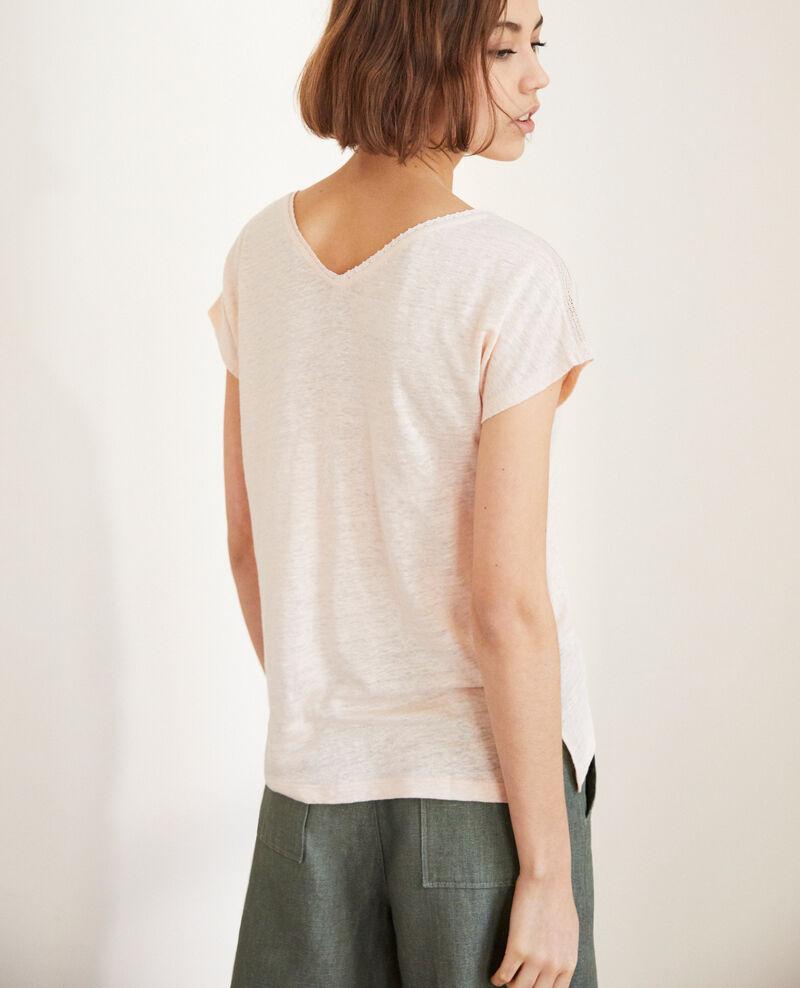 T-Shirt mit Spitze Light pink Itlanta