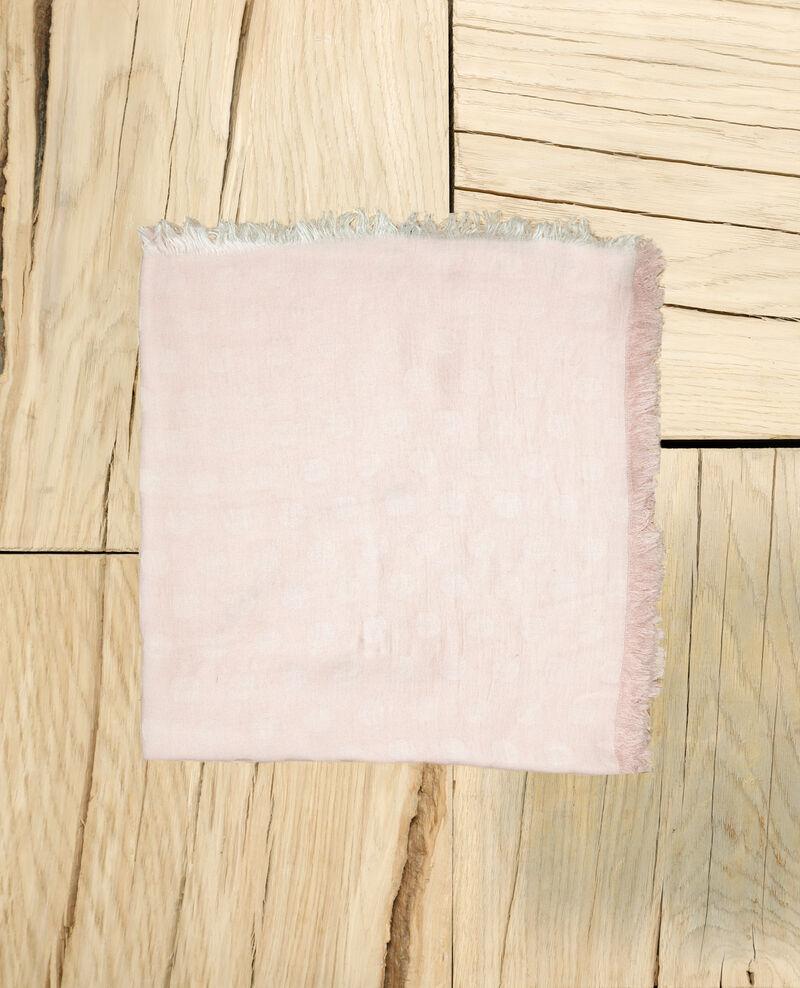 Tuch mit Punkten Pink Ipois