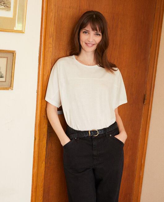 T-Shirt aus Baumwolle OFF WHITE