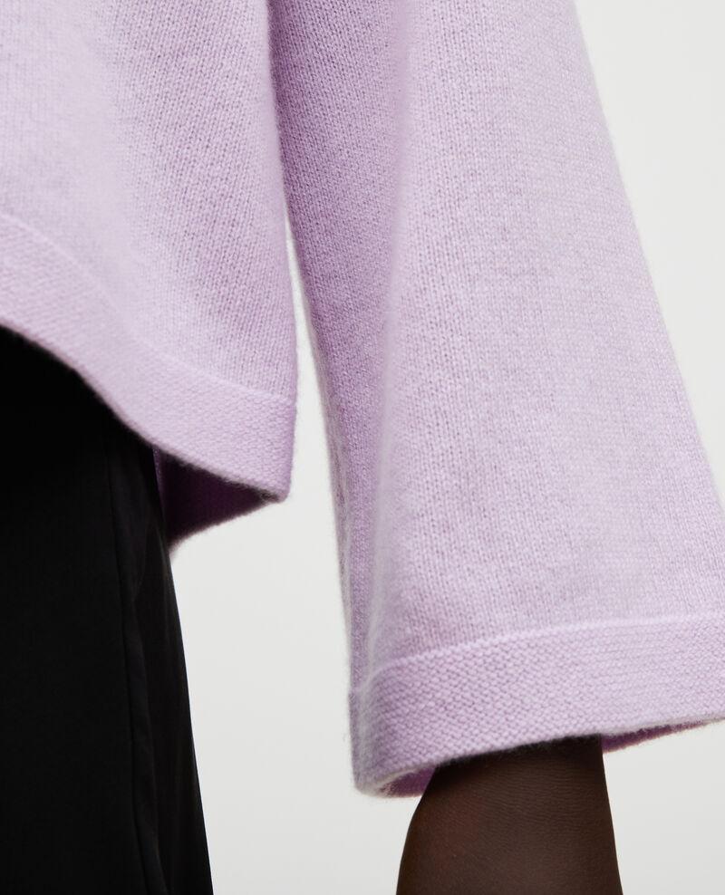 Pullover aus Kaschmir mit U-Boot-Kragen Pastel lilac Millau