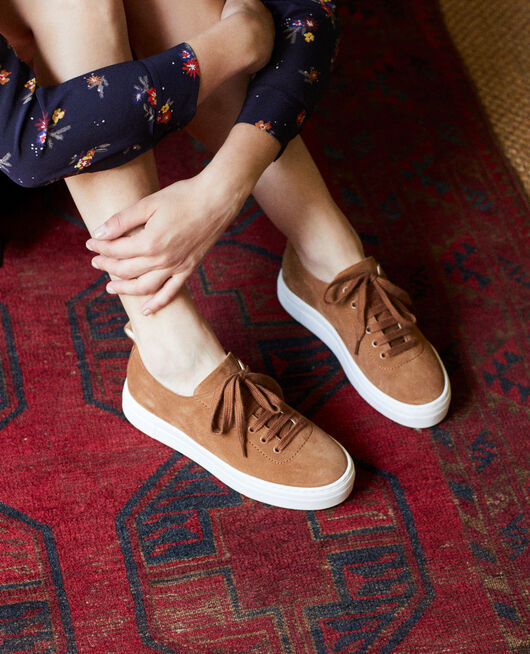 Plateau-Sneakers  CAMEL