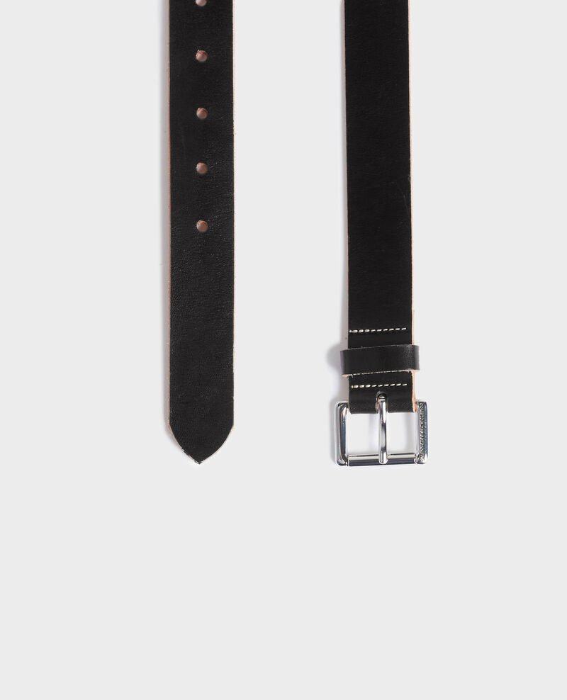 Klassischer Ledergürtel Black beauty Noyau