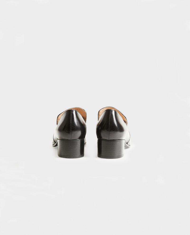 Mokassins aus Leder Black beauty Meaux