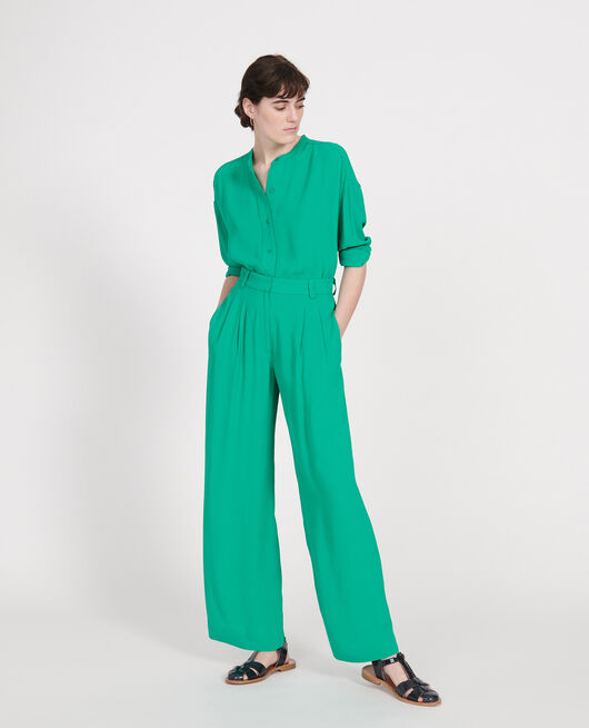 Fließende Hose GOLF GREEN