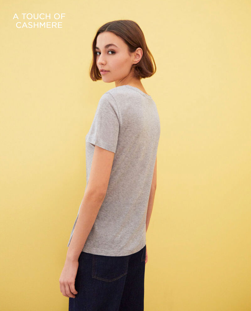 Zeitloses T-Shirt Heather grey Impax