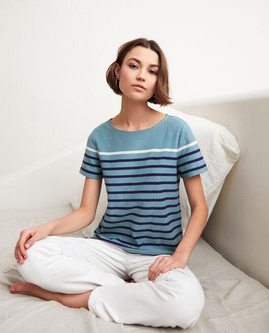 Matrosen-T-Shirt BM/NAVY/OW