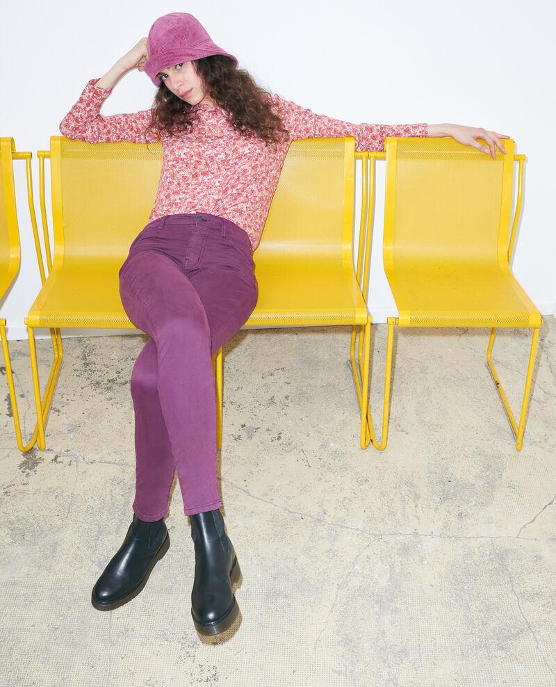 DANI - SKINNY - 5- Pocket-Jeans mit hoher Taille Potent purple Pozakiny