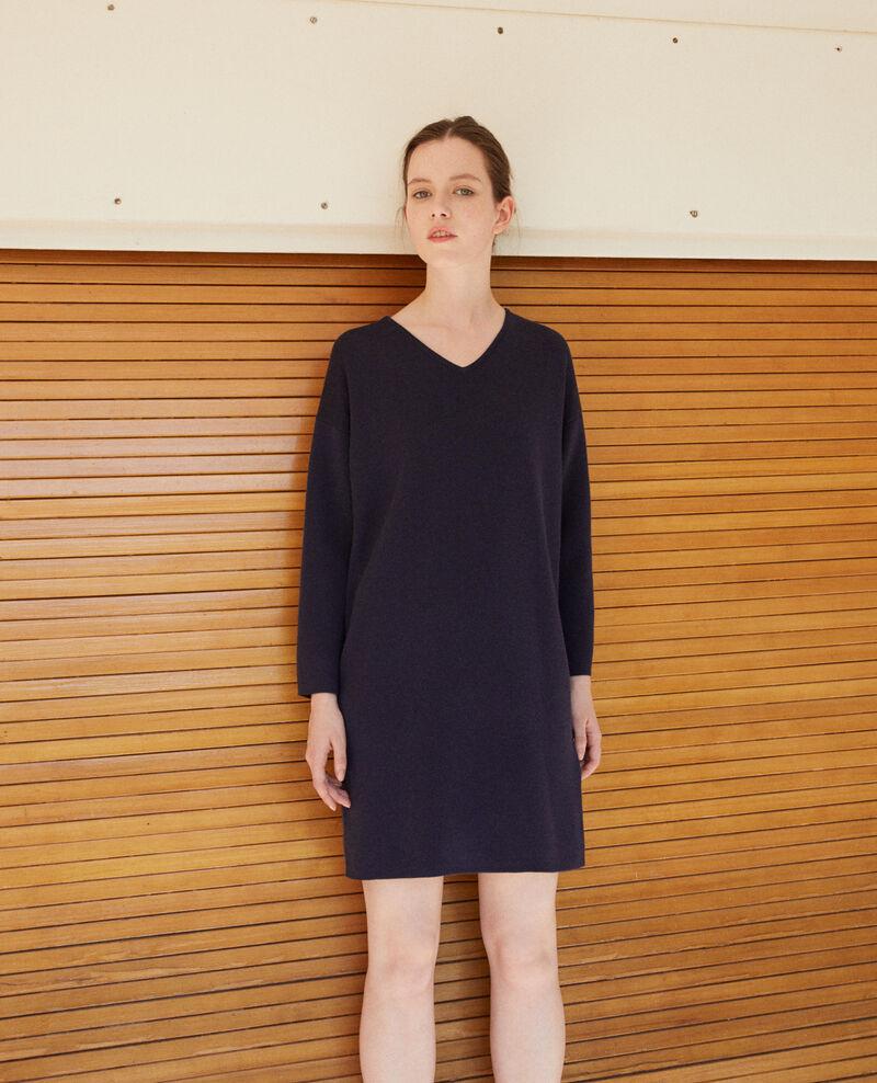 Doppelseitiges Kleid Blau Guislaine
