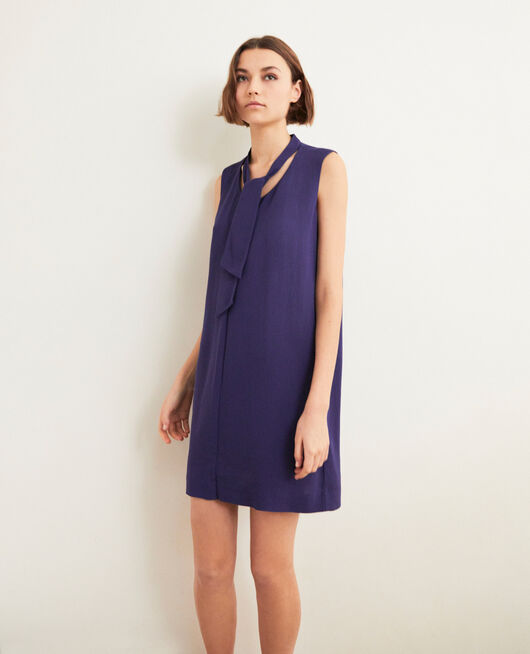 Kleid mit abnehmbarem Band INK NAVY
