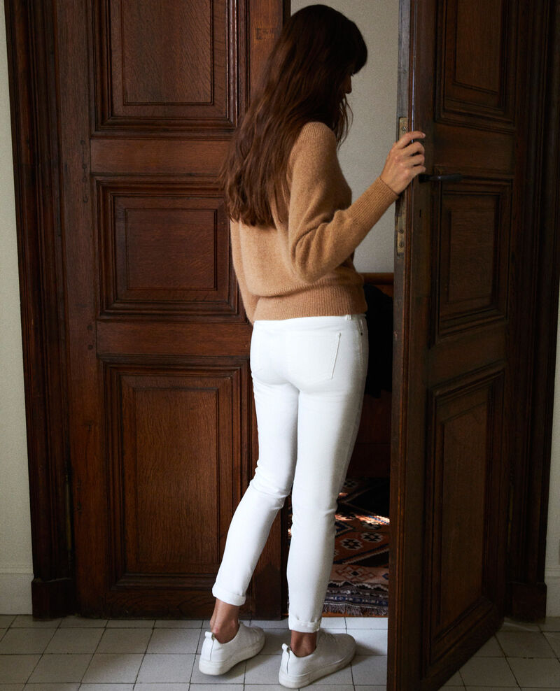 Skinny-Jeans mit 7/8-Länge Blanc Ibonaira