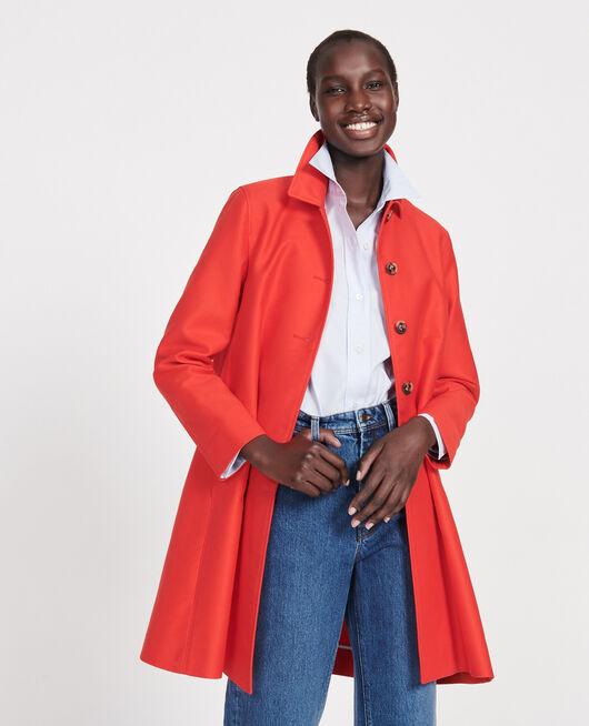 Mantel aus Baumwolle FIERY RED