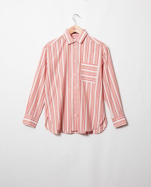 Comptoir des Cotonniers - chemise rayée en coton - 2