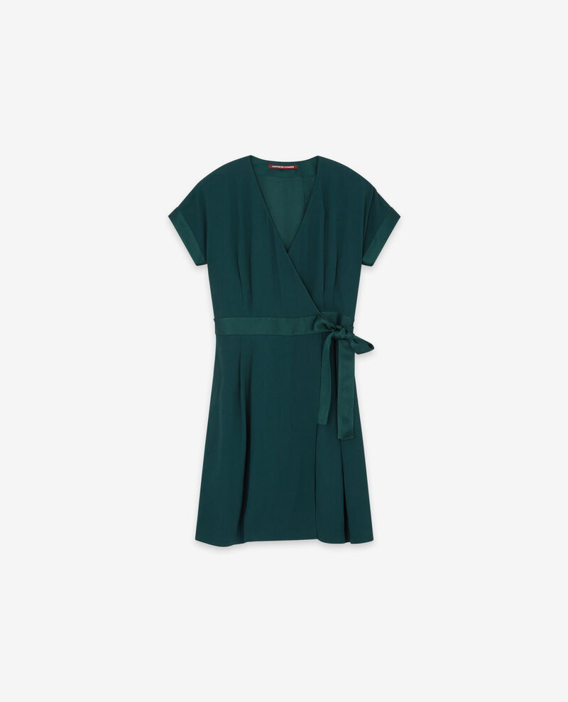Wickelkleid Deep green Dannecha
