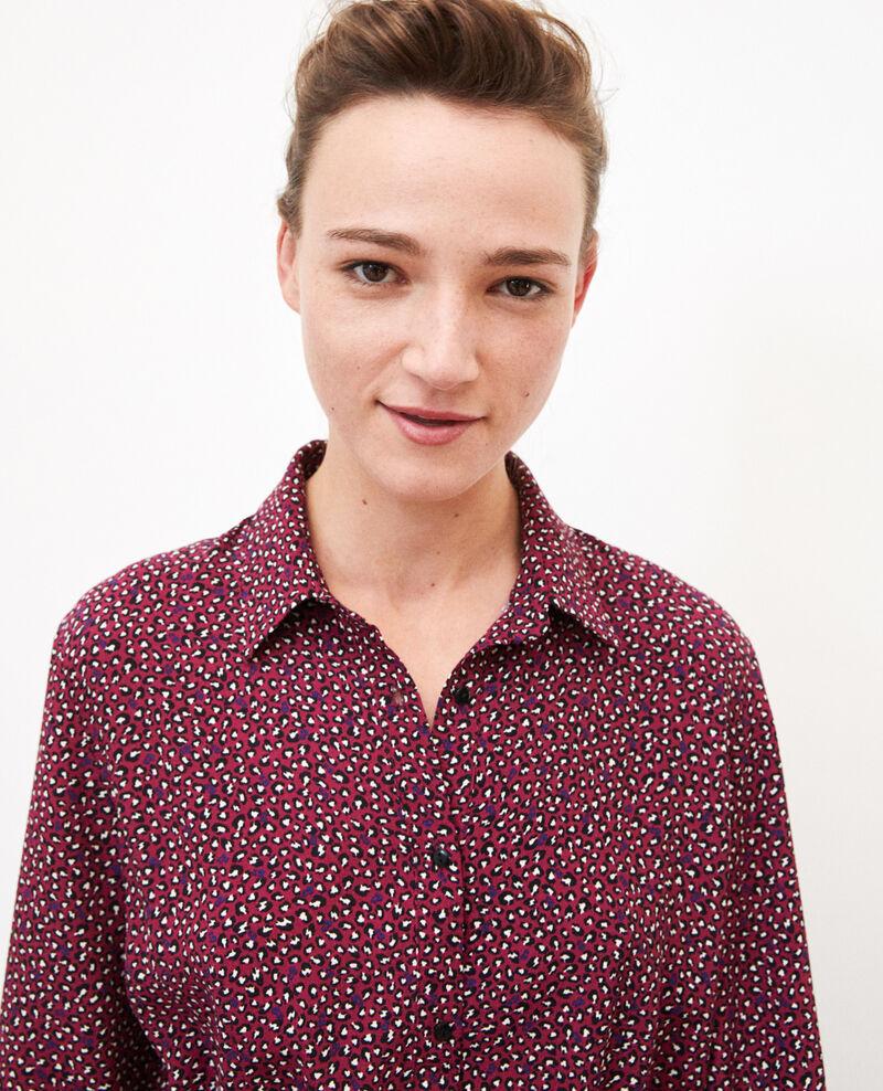 Hemdkleid  Rot Gabriela