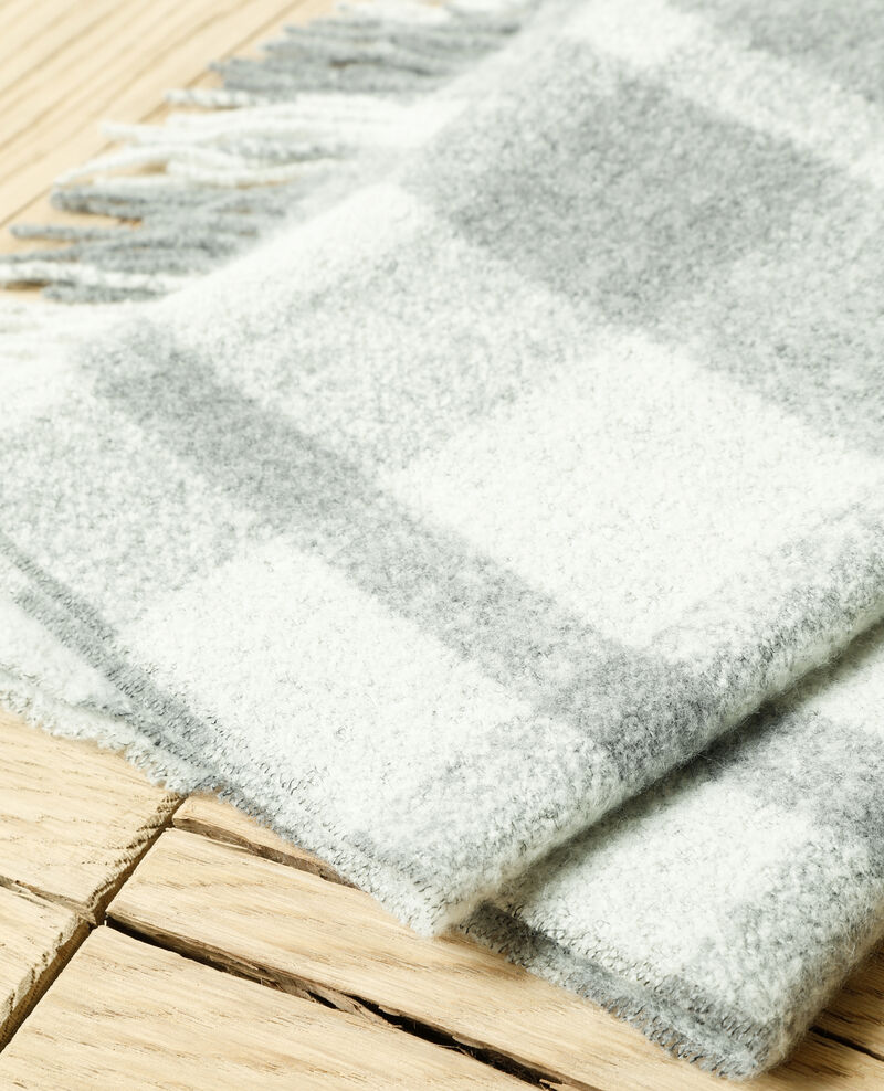 Langer Schal Grau Girasol