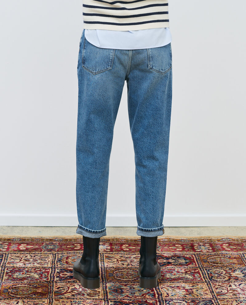 RITA - SLOUCHY – Locker sitzende Low-Waist-Jeans Vintage mid wash Peronac