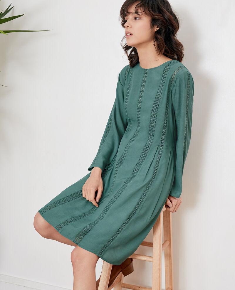 Kleid mit Spitze Peppermint Faise