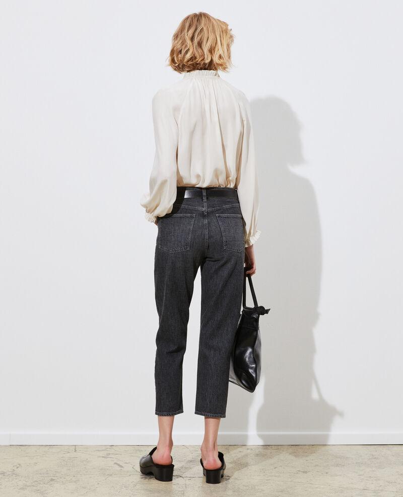 RITA - SLOUCHY - Locker sitzende Low-waist-Jeans Vintage grey Perokey