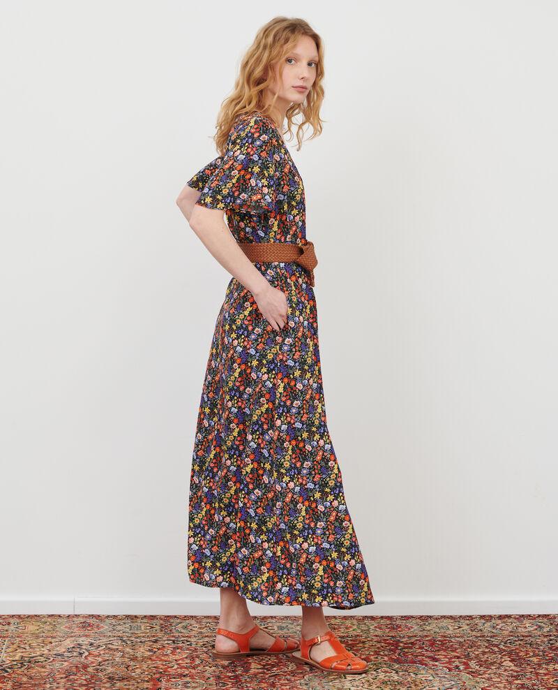 Langes Kleid Prairie black beauty Lavish