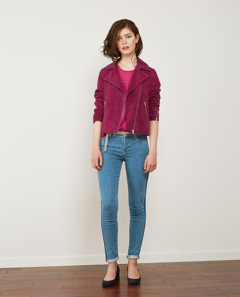 Zweifarbige Jeans in Zigarettenform Indigo stripe Disquaire