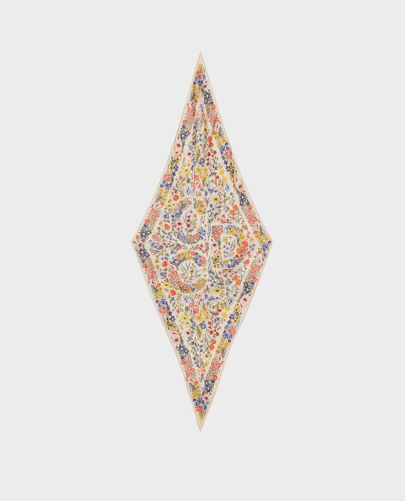 Seidentuch in Diamantform Tapioca Nage