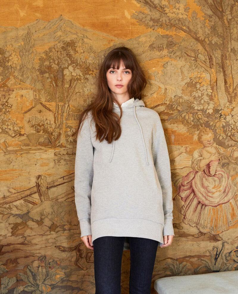 Kapuzen-Sweatshirt Light grey Jasette