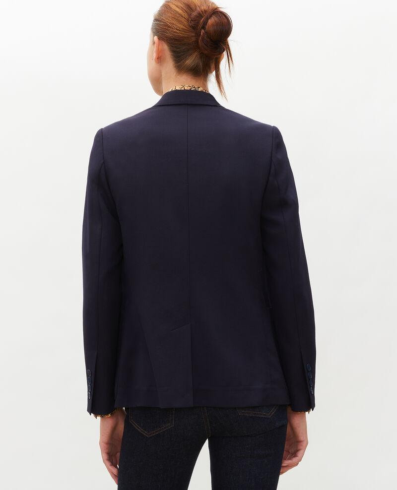 Taillierter Wollblazer für Herren Night sky Mesanger