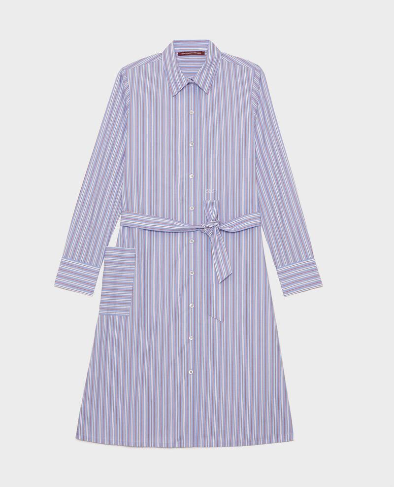 Hemdkleid aus Popelin Popeline stripes Lenka