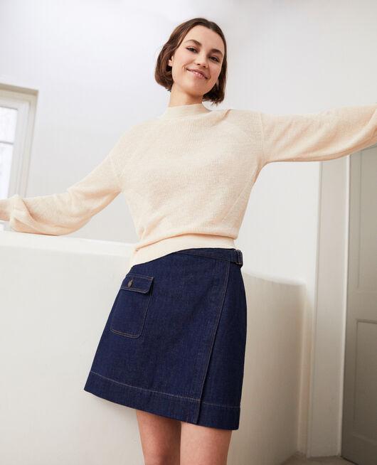 Wickelrock aus Jeans RINSE